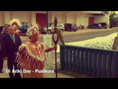 Cook Islands Holiday Guide - Ui Ariki Day July 2017