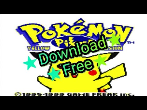 How To Download Pokemon Yellow On Android - [Gameboy Color]