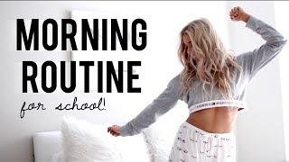 school morning routine 2018