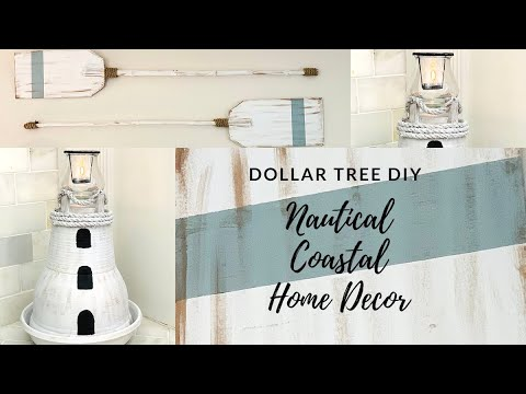 Dollar Tree Diy Coastal Nautical Home Decor