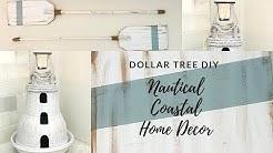 DOLLAR TREE DIY COASTAL NAUTICAL HOME DECOR