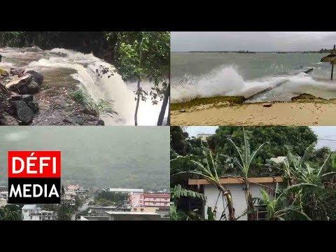 Le cyclone Berguitta sous l'oeil des internautes