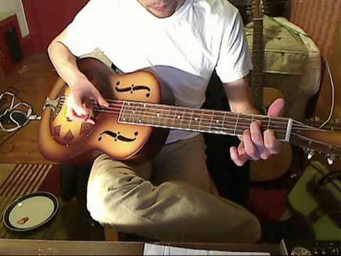 John Fahey- Stomping Tonight on the Pennsylvania/Alabama Border- National Reso-phonic Cover