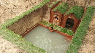 Most Amazing Underground Swimming Pool and Dig To Build Underground House