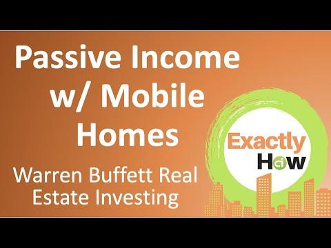 Warren Buffett Real Estate Investing (Make Passive Income W/ Mobile Homes)