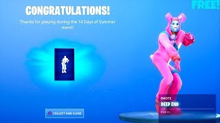 *FREE* Fortnite Emote Deep End..! (Dance at Different Beach Parties Locations)