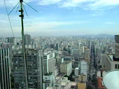 360 View of Sao Paulo from the City Center