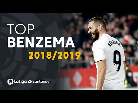 TOP Moments Karim Benzema LaLiga Santander 2018/2019