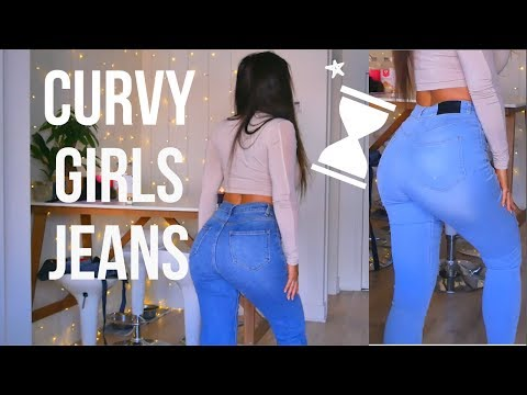 PERFECT Jeans For Fit Girls - BIG BUTT Most Flattering Jeans!
