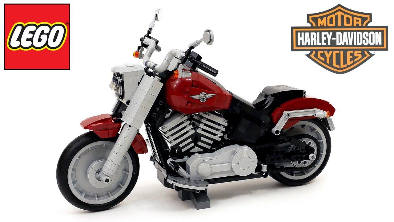 ПОПОЛНЕНИЕ В КОЛЛЕКЦИИ – ЛЕГО 10269 Harley-Davidson Fat Boy [краткий обзор набора]