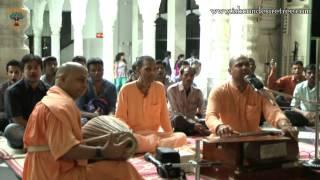 Sri Krishna Govinda Hare Murari bhajan by H G  Haridas Das on 28 July 2014 at ISKCON Juhu