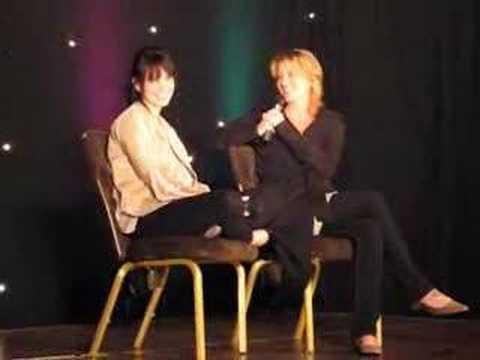 Mia Kirshner and Laurel Holloman L word
