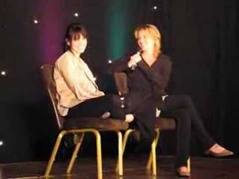 Mia Kirshner and Laurel Holloman L word