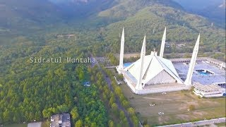 Faisal Masjid drone view with beautiful nasheed (no music)  | Sidratul Muntaha |
