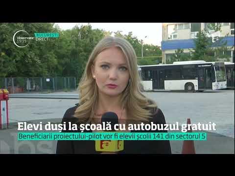 Elevii din Bucureşti urmează să fie transportaţi la şcoli cu RATB-ul