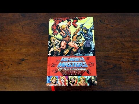 He-Man and the Masters of the Universe Minicomic Collection Review