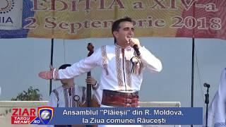 Ansamblul PLAIESII din Republica Moldova, la Ziua comunei Răucești, Neamț, România