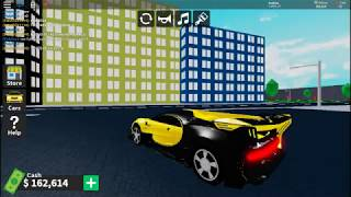 BUYING THE BUGATTI VISION GT... IN ROBLOX XD *with race*