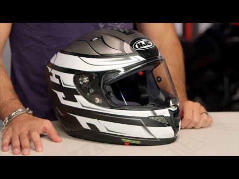 3be0f009 HJC RPHA 11 Pro Skyrym Helmet Review at RevZilla.com - YouTube