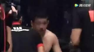 中国小将扬威亚洲,最大的MMA擂台一回合KO拳王!