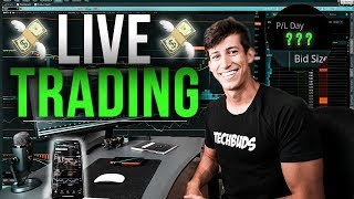 How To Day Trade ETFs For Beginners ($1,400 PROFIT)
