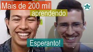 Mais de 200 mil aprendendo Esperanto pelo Duolingo! #26 Conversa com Marcionilo | Esperanto do ZERO!