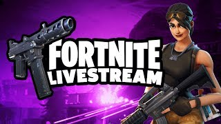 Fortnite Live Stream ( Fortnite Live Stream) Chica de jugadora ? Camino a 700 Subs Subs de regalo