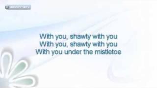 Justin Bieber - Mistletoe [ Original Instrumental with backing vocals and lyrics on screen ]