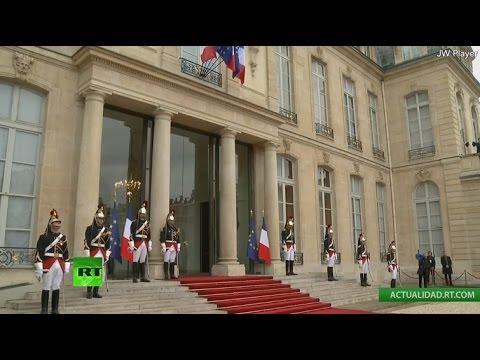 Emmanuel Macron es investido presidente de Francia