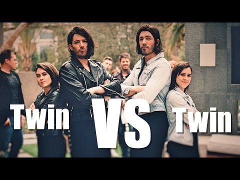 Twins Tegan and Sara fight with Drew & Jonathan Scott to be #1