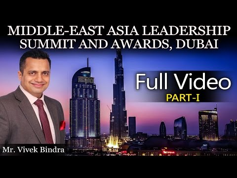 Vivek Bindra At Middle East Asia Leadership Summit and Awards, Dubai - Part 1