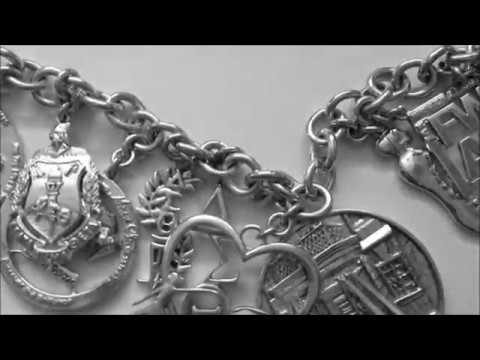 The Delta Sigma Theta Sterling Silver Charm Bracelet Youtube