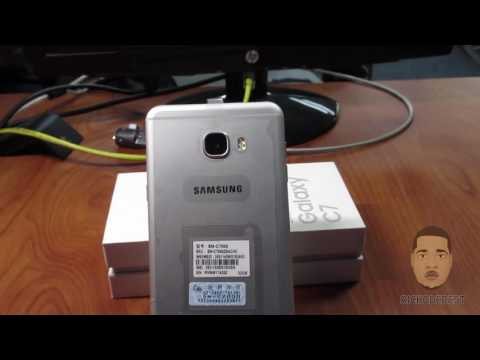 Samsung Galaxy C7 Unboxing