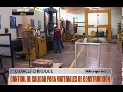 Control de calidad para materiales de construcci n youtube - Materiales de construcion ...