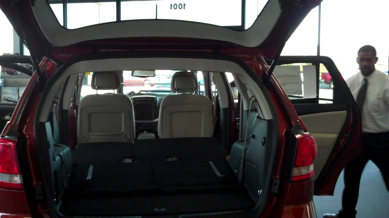 2012 Dodge Journey walk around review with Javon Shannon - YouTube