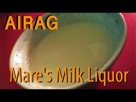 Tasting Airag, Fermented Mare's Milk Liquor