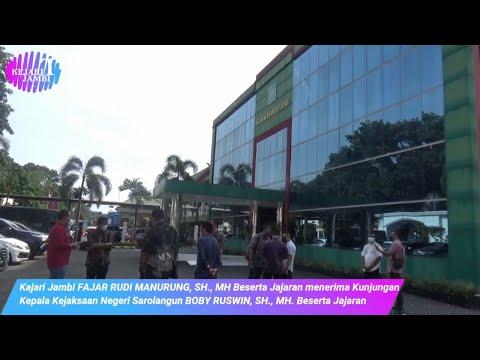 Kejaksaan Negeri Jambi Menerima Kunjungan Kepala Kejaksaan Negeri Sarolangun Beserta Jajaran