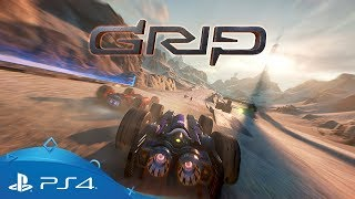 GRIP   Release Date Trailer   PS4