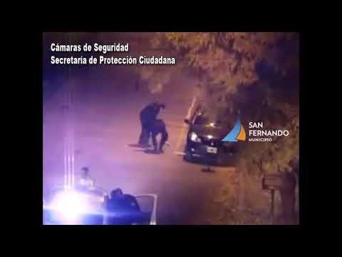 San Fernando: intentó robar un auto estacionado, pero terminó detenido por Patrullas Municipales