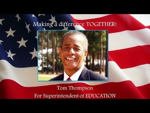 Tom Thompson-for State Superintendent of Education