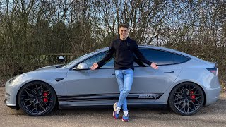 Download This Modified Tesla Sounds Like A Lamborghini! Mp3 and Videos