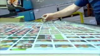 видео: производство наклеек