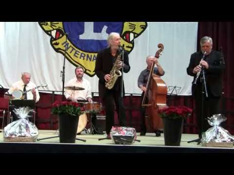 Ib Lindschouw New Orleans Jazz Band at the Lions Clubs' Concert - Copenhagen City Hall