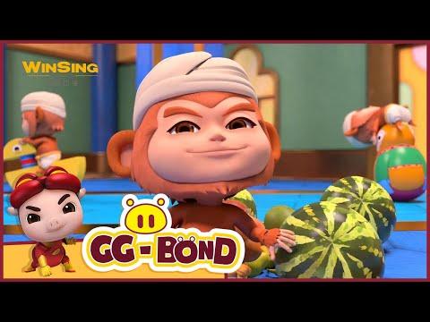 GG Bond: Adventure to the World EP09 Rescue among Monkeys 猪猪侠番外之环球日记 第九集《不好惹的猴子》