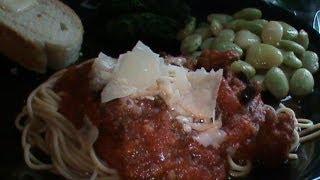 Semi-homemade Spaghetti Dinner