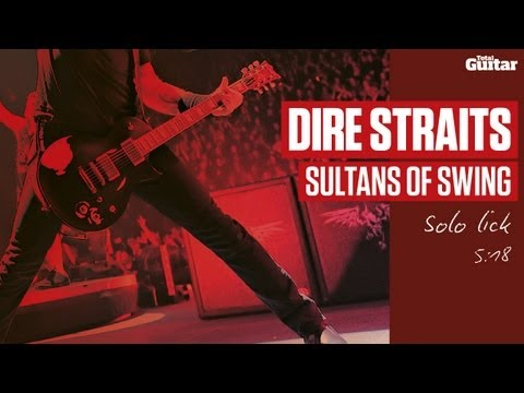 Guitar Lesson: Dire Straits 'Sultans Of Swing' technique focus (TG218)