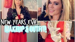 New Years Makeup & Outfit // 2014 // Makeupkatie95 Thumbnail