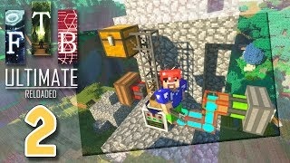 【Minecraft】FTB Ultimate Reloaded 工業模組生存 #2 - 我變身成為TV Buddy用樹葉製造能量?