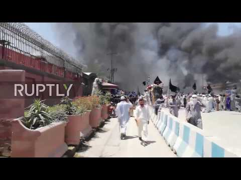 Pakistan: Jamiat supporters clash with police in Peshawar amid FATA/KP merger vote