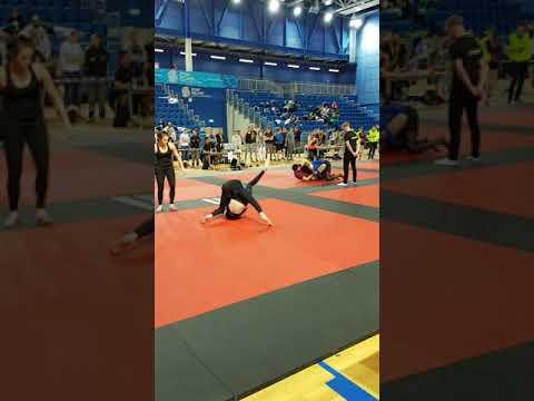 Adam condon Dublin int bjj open 2017 semi final